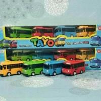 harga Mobil Tayo Isi 4 Pcs Pull Back / My Little Bus Tayo / Bis Tayo Tokopedia.com