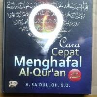 Buku 9 Cara Praktis Menghafal Al-Quran