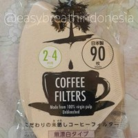 Daiso Coffee Filter / Saringan Kopi / Filter Kopi (Unbleached)