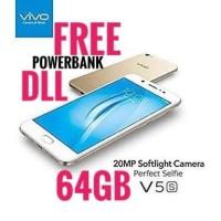 VIVO V5 BONUS POWERBANK DLL RAM 4GB BARU GARANSI RESMI