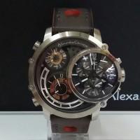 jam tangan alexandre christie ac 9221 limited edition silver black