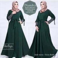 Grosir Baju Long Dress Muslim Wanita Murah   Diandra PR001 40fc266b86