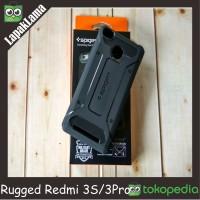 SA Case Spigen Rugged Capsule Armor Xiaomi Redmi 3s 3Pro 3 S Pro Cover