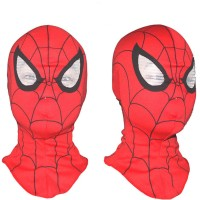 Jual Topeng Spiderman Bahan Kain Spiderman Mask Murah
