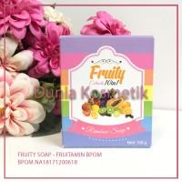 FRUITAMIN Soap 10 in 1 /Sabun Pelangi Buah Pemutih ORI Wink White Thai
