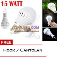 LED Autolamps Bohlam Emergency 15W + Hook