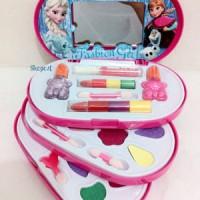 mainan anak perumpuan make up frozen 3 susun rias beauty set