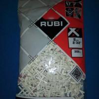 RUBI Tile Spacer 2 mm Accecories Pengatur Jarak Keramik Marmer Granit