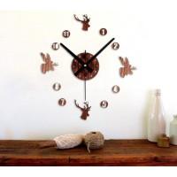 Jual Giant Wall Clock Jam Dinding Besar DIY 30-60cm Vintage (PROMO) Murah