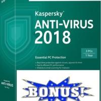 [PROMO!! BELI KAV GRATIS KIS] Kaspersky Antivirus (KAV) 2018 - 1PC