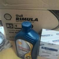 Oli Shell Rimula R5 E 10W-40 (untuk diesel common rail)