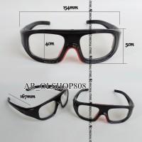 HANYA UKURAN FRAME Kacamata Google panless Frame lensa Baca Panlees