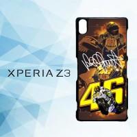 Casing Hardcase HP Xperia Z3 Valentino Rossi Walpaper X4994