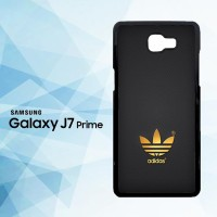 Casing HP Samsung Galaxy J7 Prime Golden Adidas on grey X5709
