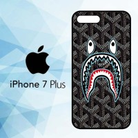 Casing Hardcase HP iPhone 7 Plus bape goyard black X5868