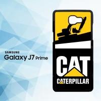Casing HP Samsung Galaxy J7 Prime caterpillar excavator X5861