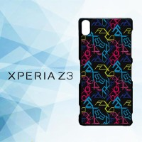 Casing Hardcase HP Xperia Z3 Fox Wallpapers Motocross X4532