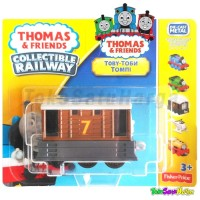 Thomas and Friends TOBY Diecast Fisher Price Collectible Railway Ori