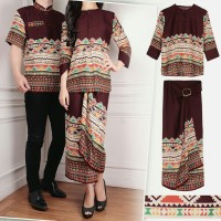 claudia rok lilit 3in1 kebaya baju couple batik
