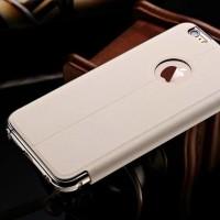 Leather Flip Cover KXX Alumunium Bumper iPhone 6 Plus / 6s Plus case