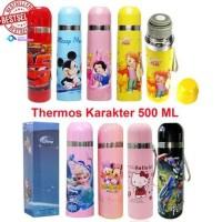 Cuci Gudang botol minum thermos karakter disney mickey frozen cars