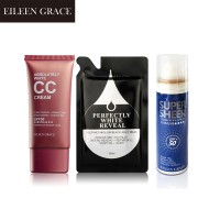 EG CC Cream Oil Control+Black Jelly Mask & SPF50 Sunscreen spray