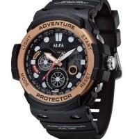 jam tangan perempuan anti air alfa digitec dziner casio baby g