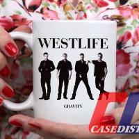 Gelas Mug Desain Westlife Gravity boy band cover album