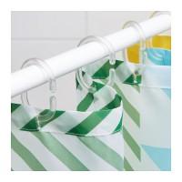 12pcs Ring Gantungan Tirai Kamar Mandi IKEA RINGSJON Shower Curtain
