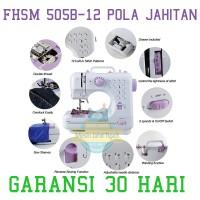 Jual Mesin Jahit 12 POLA, Mesin Jahit Portable, Tipe FHSM 505 BERGARANSI Murah