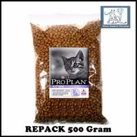 Makanan Kucing Anak Proplan Kitten Cat food Pro plan kiten 500 Gram