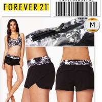 Forever 21 Floral Running Short 34817040317ae Size M Gym Zumba Yoga