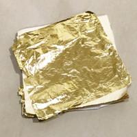 GOLD LEAF / kertas gilding foil paper emas silver perak slime hiasan