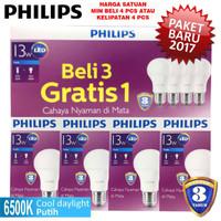harga Lampu Led Philips 13 Watt 13 W 13watt 13w Paket 4 Philips Led Tokopedia.com