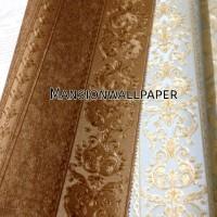 Wallpaper Dinding Garis Stripe Klasik Eropa