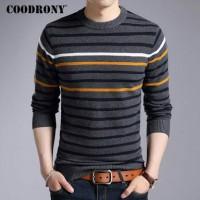 Jual Sweater Pria O-Neck Cotton Rajut Halus Kualitas Premium Murah