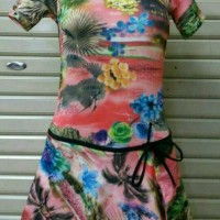 Baju Renang diving rok wanita remaja-dewasa M.L.XL