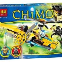 Mainan Balok Brick Toys BELA 10074 CHIMO Lavertus' Twin Blade