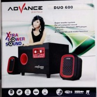 Advance Speaker Aktif Mini Portable Duo 600