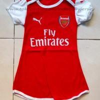 Jual Dress Baby Baju Bola Bayi Jersey Arsenal *HOME* Murah