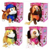 Mainan Anak Little Electric Pets Paw Patrol Dog Boneka Zuma Marshall