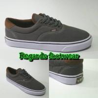 sepatu vans era grey brown