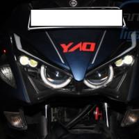 Yamaha AEROX NVX 155 Custom Projie Projector OEM LED JAZZ RS ALIS Cree