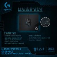 Logitech G 440 Cloth Gaming Mouse Pad