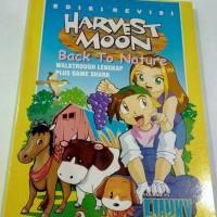 buku harvest moon back to nature untuk ps1 / psx / ps one edisi langka