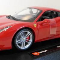 Burago 1/24 diecast - 18-26013 Ferrari 488 GTB Rosso Red