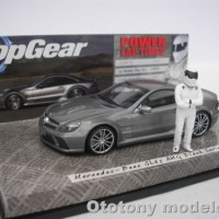 MERCEDES-BENZ SL65 AMG BLACK SERIES 2009 TOP GEAR STIG 1/43 MINICHAMPS