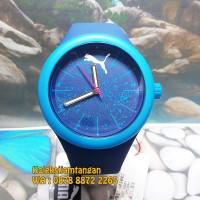 JAM TANGAN PRIA PUMA PU911401003 EZZY BLUE SPLASH ORIGINAL