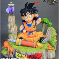 Tensai Studio Kid Son Gohan Training Statue MISB