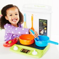 ELC My First Kitchen, Mini play kitchen with utensils